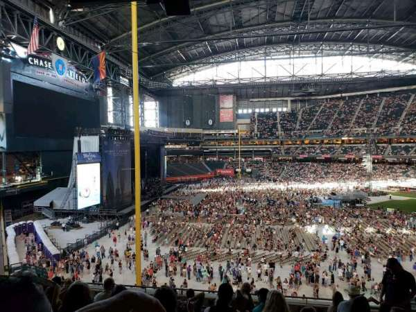 Chase Field, section: 221, rangée: 11