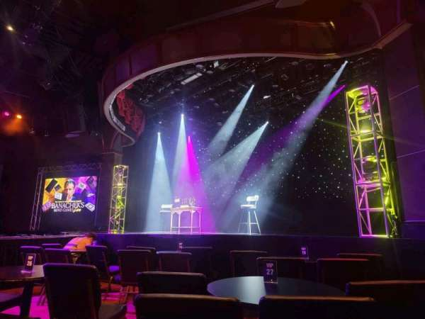The Strat Theater, section: VIP Tables