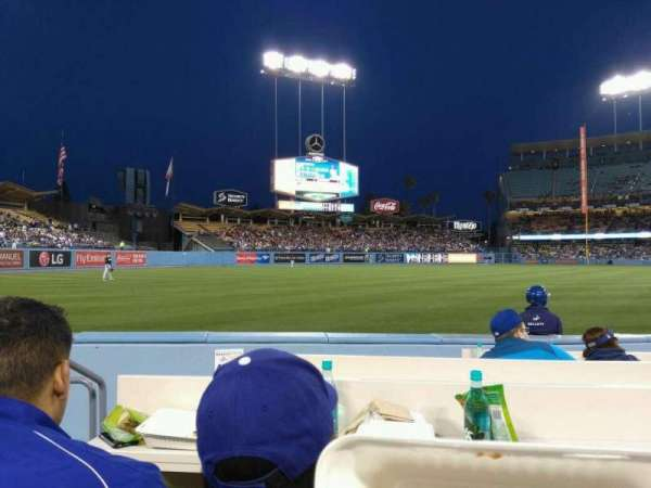 Dodger Stadium, section: 43BL, rangée: 6