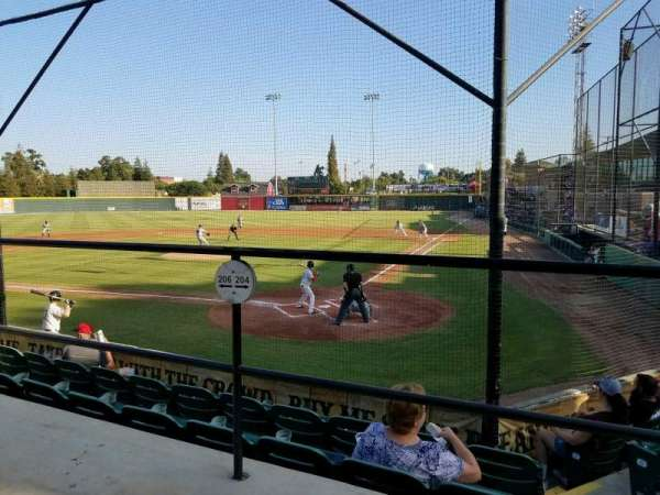 Rawhide Ballpark, section: 204, rangée: E, siège: 3