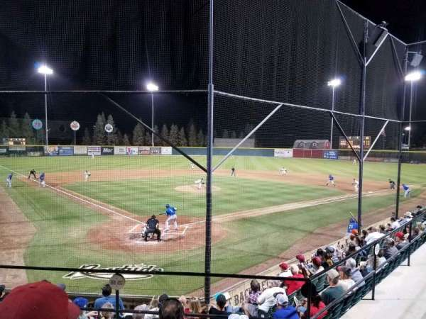 Rawhide Ballpark, section: 201, rangée: H, siège: 4