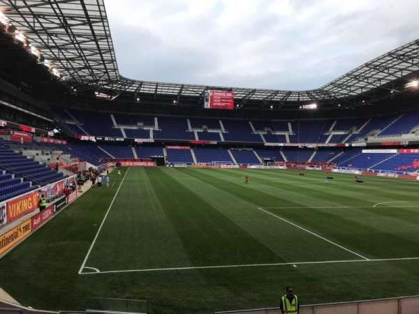Red Bull Arena (New Jersey), section: 103, rangée: 9, siège: 14