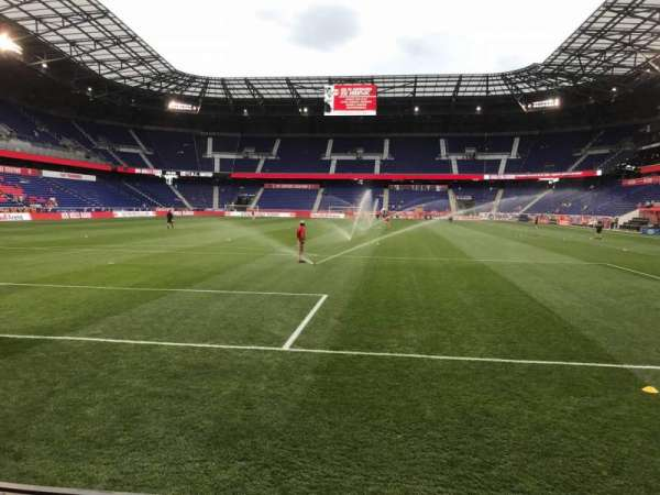 Red Bull Arena (New Jersey), section: 117, rangée: 1, siège: 18
