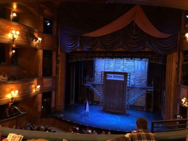 Cabot Theatre at the Broadway Theatre Center, section: Dress Circle, rangée: C, siège: 13