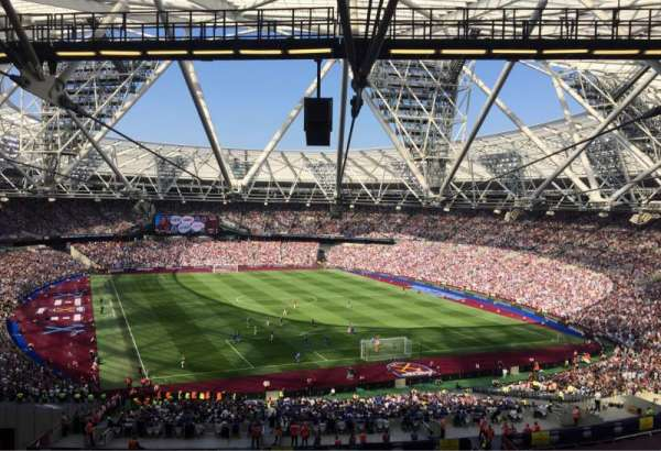 London Stadium, section: 219, rangée: 61, siège: 96