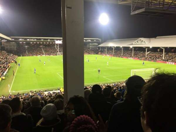 Craven Cottage, section: P6, rangée: MM, siège: 134