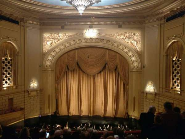 War Memorial Opera House, section: Dress Circle Premium Front, rangée: B, siège: 108