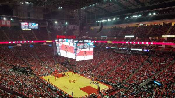 Toyota Center, section: 404, rangée: 6, siège: 14