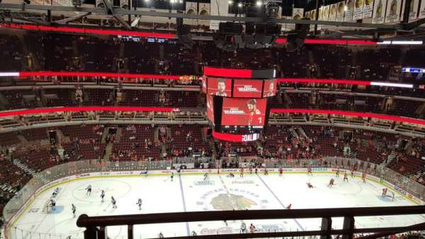 United Center, section: 318, rangée: 9, siège: 23
