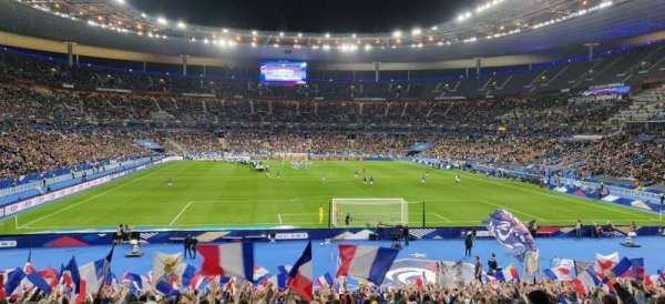 Stade de France, section: K4, rangée: 30, siège: 30