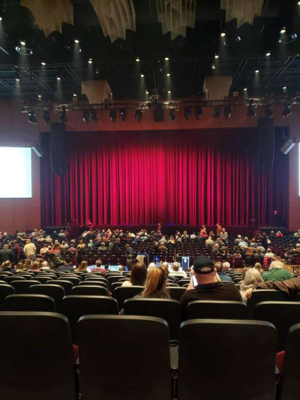 The Theater at MGM National Harbor, section: 103, rangée: P, siège: 8