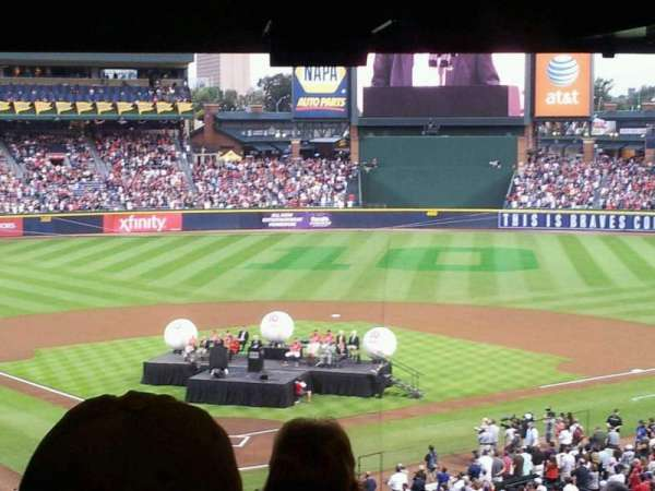 Turner Field, section: 201