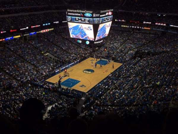 American Airlines Center, section: 315, rangée: n, siège: 9