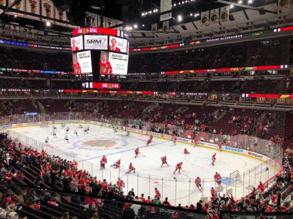 United Center, section: 213, rangée: 1, siège: 6