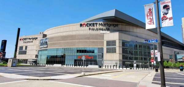 Rocket Mortgage FieldHouse, section: South Entrance