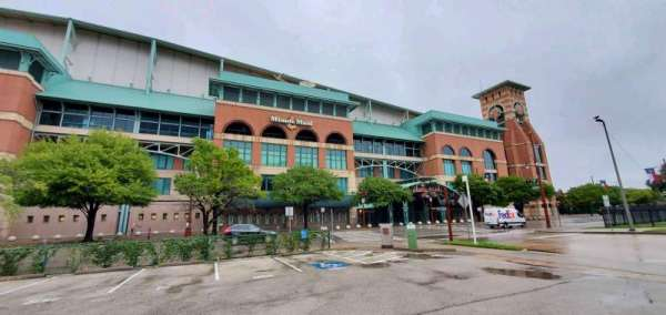Minute Maid Park, section: South Home Plate Entrance