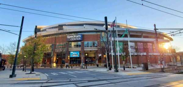 Spectrum Center, section: 5th Street Entrance