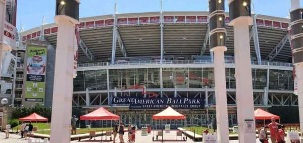 Great American Ball Park, section: Gate A