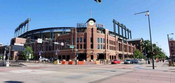 Coors Field, section: Gate D