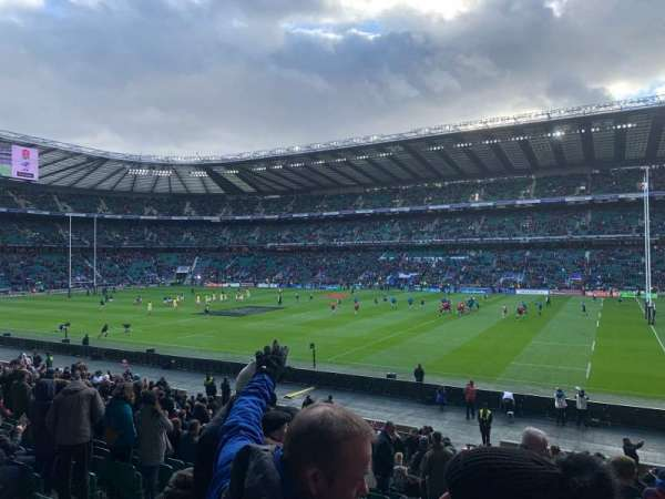 Twickenham Stadium, section: L22, rangée: 27, siège: 108