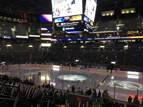 Nationwide Arena, section: 113, rangée: U, siège: 16