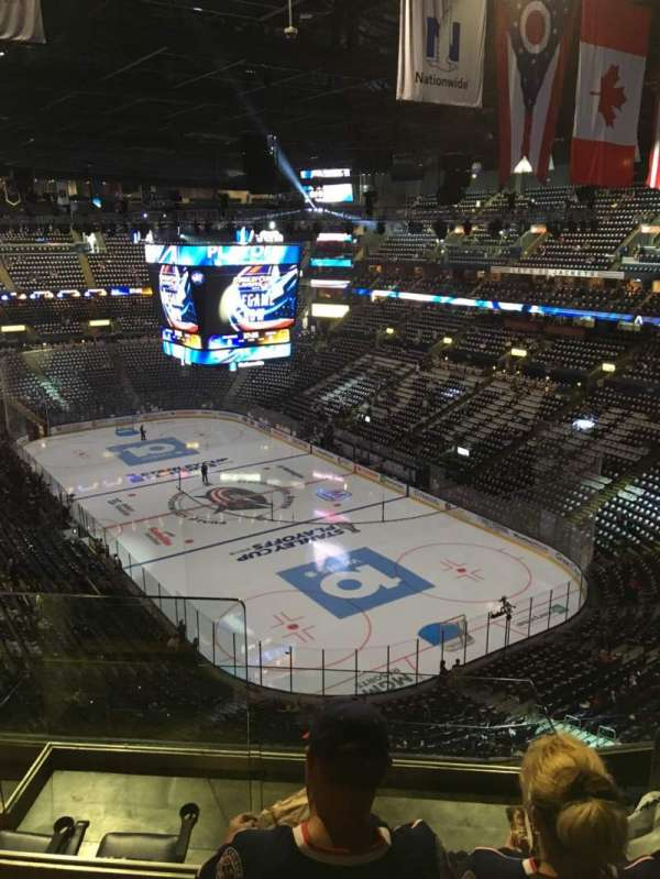 Nationwide Arena, section: 212, rangée: G, siège: 14