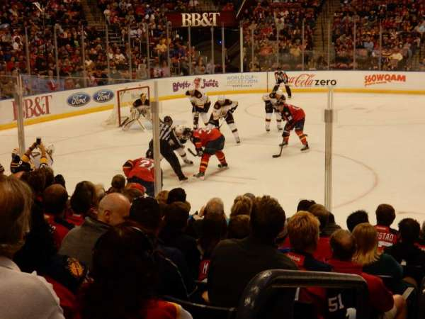 BB&T Center, section: 119, rangée: 10, siège: 14