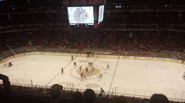United Center, section: 333, rangée: 5