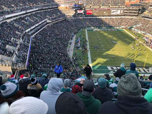 Lincoln Financial Field, section: 209, rangée: 15, siège: 4