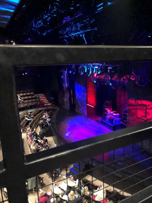 Gillian Lynne Theatre, section: Dress Circle, rangée: A, siège: 8