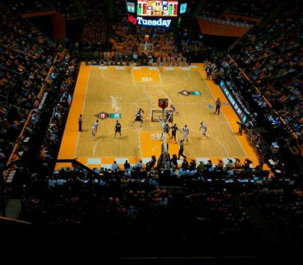 Thompson-Boling Arena, section: 313