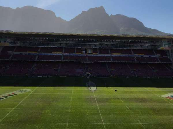 Newlands Rugby Stadium, section: Railway Stand Level 3 Block D, rangée: II, siège: 138