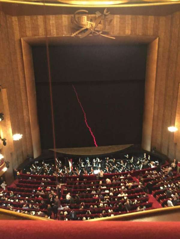 Metropolitan Opera House - Lincoln Center, section: Balcony, rangée: A, siège: 111