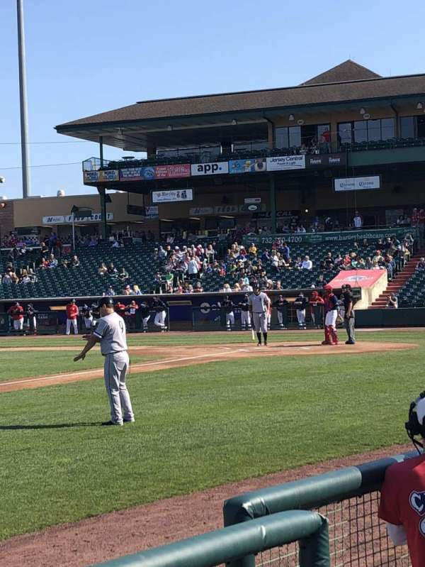 FirstEnergy Park, section: 113, rangée: 3, siège: 4