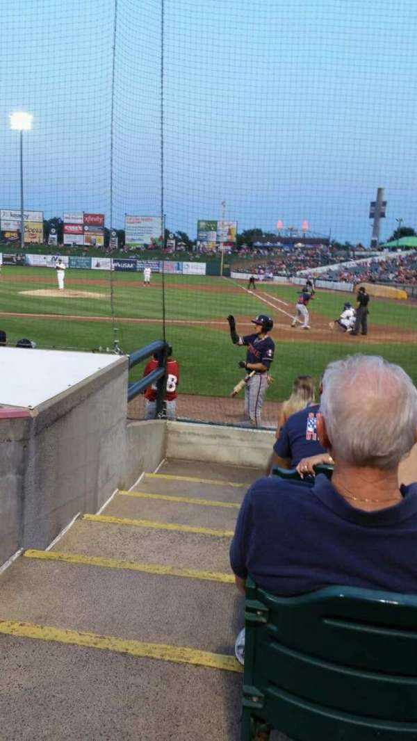 FirstEnergy Park, section: 110, rangée: 8, siège: 18