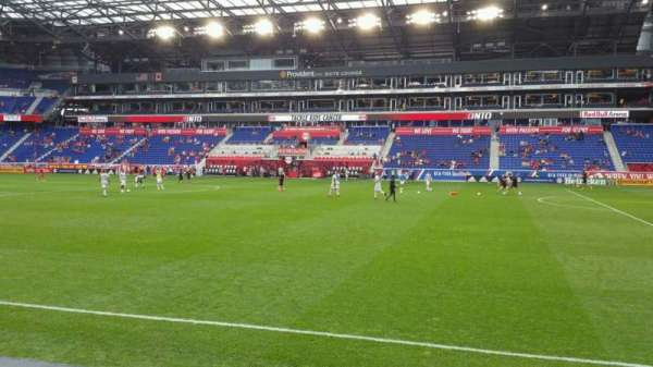 Red Bull Arena (New Jersey), section: 124, rangée: 3, siège: 30