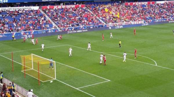 Red Bull Arena, section: 215, rangée: 1, siège: 27
