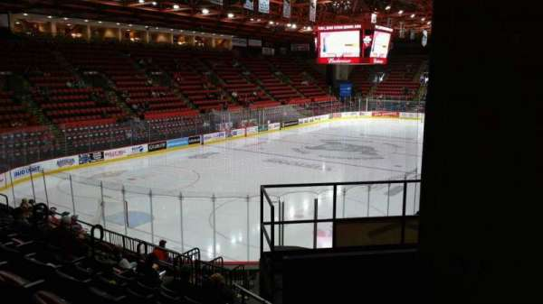 Floyd L. Maines Veterans Memorial Arena, section: 20, rangée: H, siège: 7