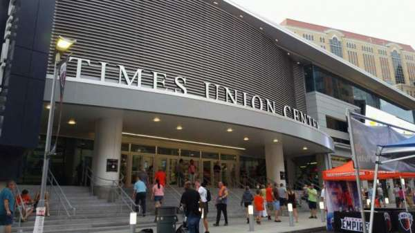 Times Union Center, section: EXTERIOR