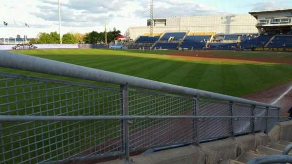 Richmond County Bank Ballpark, section: 1, rangée: J, siège: 24
