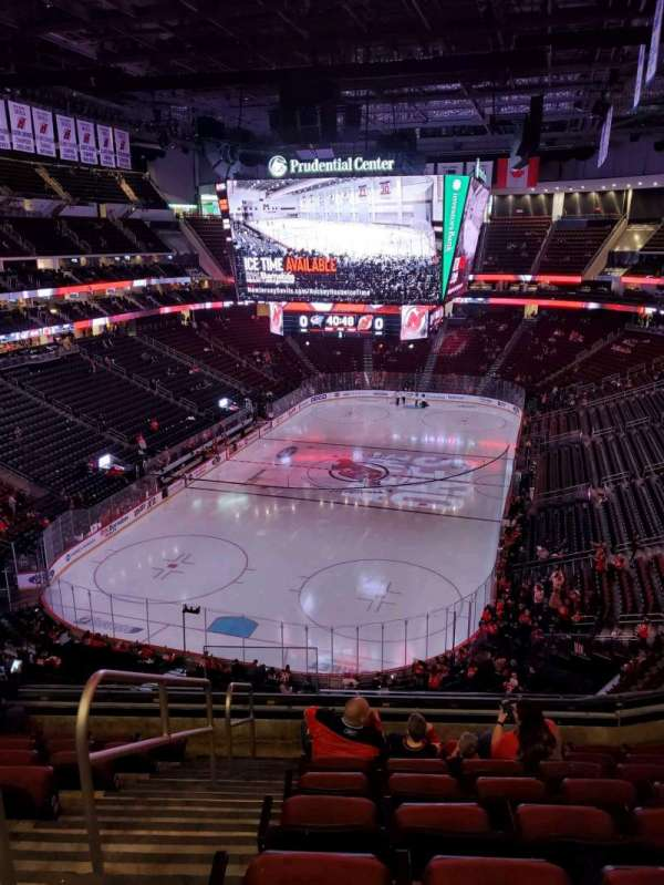 Prudential Center, section: 122, rangée: 8, siège: 15