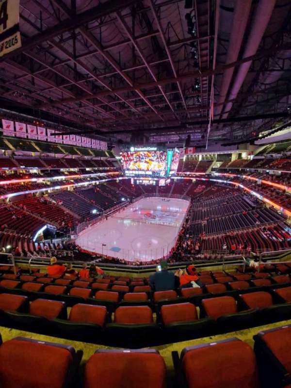 Prudential Center, section: 122, rangée: 8, siège: 8