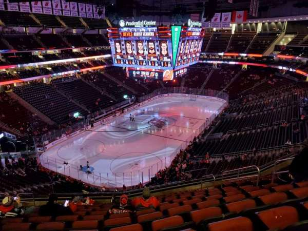 Prudential Center, section: 123, rangée: 12, siège: 9