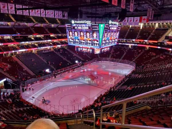 Prudential Center, section: 123, rangée: 12, siège: 1