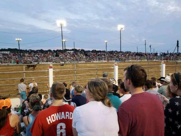 Cowtown Rodeo, section: General Admission, rangée: 9, siège: North Bleachers
