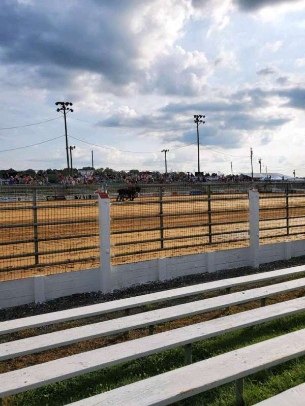 Cowtown Rodeo, section: General Admission, rangée: 7, siège: North Bleachers
