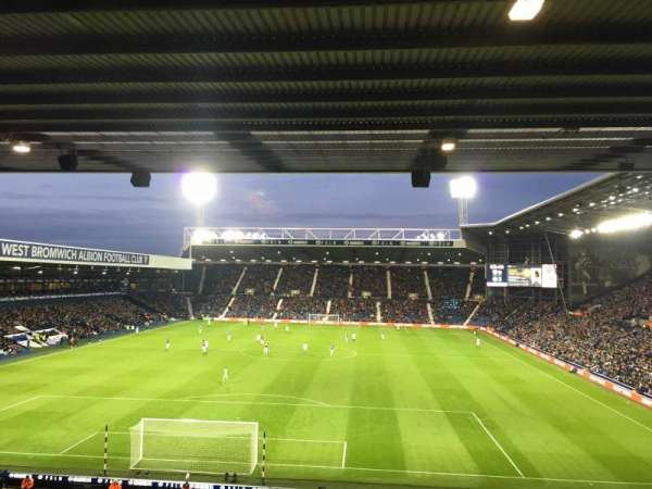 The Hawthorns, section: A3, rangée: SS, siège: 50