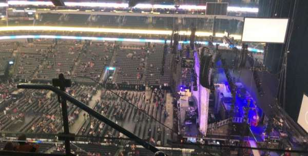 American Airlines Center, section: 308, rangée: G, siège: 18