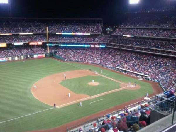 Citizens Bank Park, section: 429, rangée: 2, siège: 13