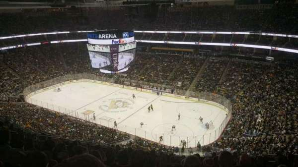 PPG Paints Arena, section: 216, rangée: N, siège: 9